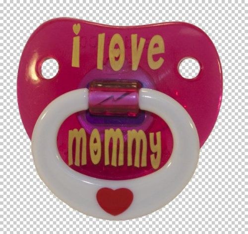 Billy Bob SFX Pacifier I love My Mommy Baby Soother Comforter Dummy
